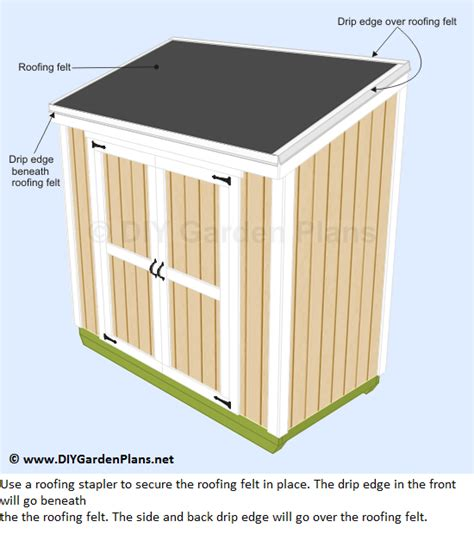 how to shingle a shed roof lean to shed plans