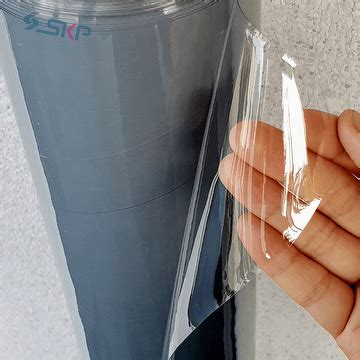 taiwan clear vinyl pvc material for outdoor application