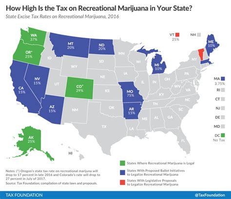 marijuana taxes lessons from colorado and washington tax foundation