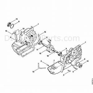 Stihl Ts 360 Disc Cutter  Ts360  Parts Diagram  A