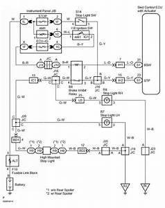2001 Toyota Tacoma Tail Light Wiring Diagram