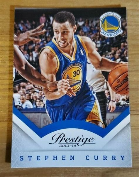 Maybe you would like to learn more about one of these? Stephen Curry 2013-14 Prestige Base Card   eBay
