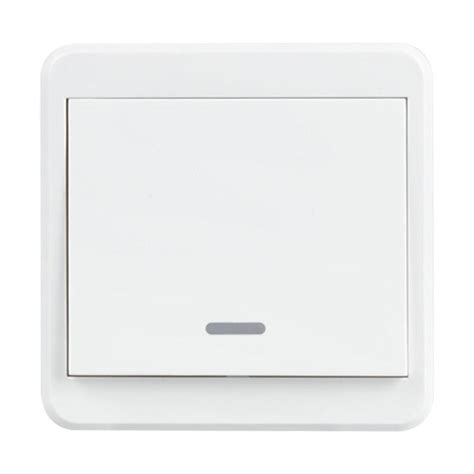 wifi wall light switch 1 gang push button remote control
