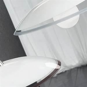 SQUARE Lampadario Cucina Vetro argento wenghe Design Moderno AnteaLuce