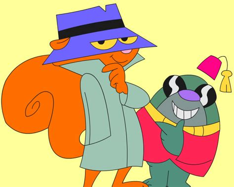 Secret Squirrel And Morocco Mole By Mformurderer On Deviantart