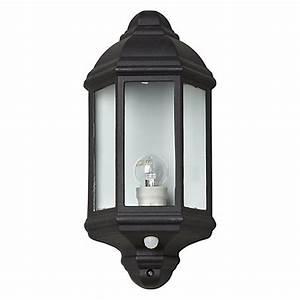 buy john lewis harris outdoor pir sensor half lantern With outdoor sensor lights john lewis