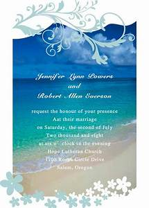 shop beach wedding invitations online With beach themed wedding invitations online