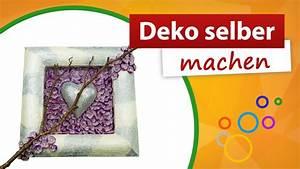 Fensterbank Deko Selber Machen : deko selber machen bilderrahmen gestalten trendmarkt24 youtube ~ Bigdaddyawards.com Haus und Dekorationen