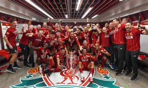 The club has won six european cups. Dressing room photos: Champions celebrate Premier League ...