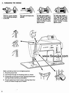 Singer 648 Sewing Machine Threading Diagram