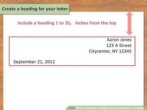 how do you address a letter how to address college recommendation envelopes 12 steps 20597