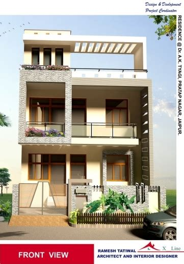 Awesome Modern Indian House Front Elevation Designs House