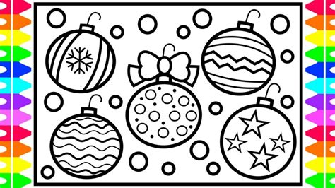 how to draw christmas balls how to draw ornaments step by step for decorations for coloring