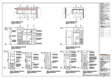 joinery working drawings details working drawing