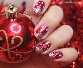 Best christmas nail art designs i love pink