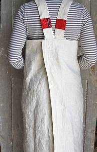 Schürze Nähen Ideen : shopkeeper 39 s apron natural linen and ticking sch ne dinge ~ Eleganceandgraceweddings.com Haus und Dekorationen
