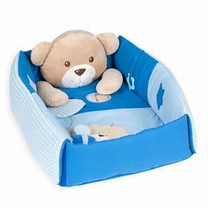 Baby Blau Farbe : kuschelb r erlebnisdecke nestchen mit spielbogen 3 in 1 in der farbe blau spiel spa ~ Markanthonyermac.com Haus und Dekorationen