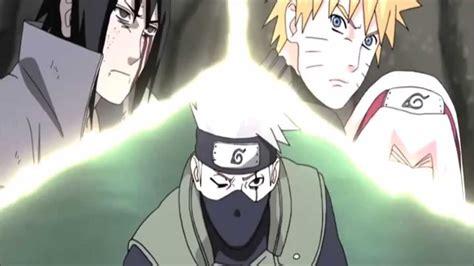 naruto kakashi sakura  sasuke team  reunited youtube