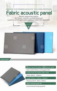 Acoustic Absorption Coefficient Chart Tiange Sound Absorber Fabric Acoustic Cinema Wall Panel