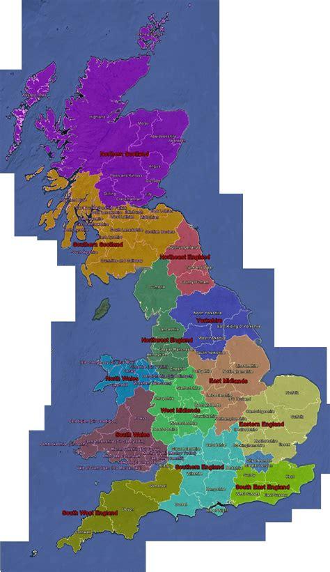 UK Regional Map - Geocaching.com Wiki - Geocaching Wiki