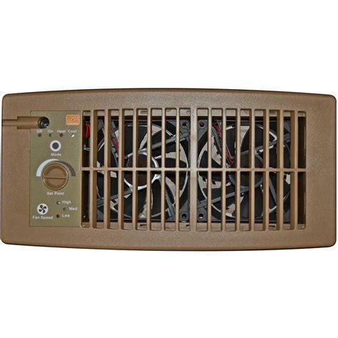7 duct booster fan suncourt flush fit register booster fan in brown hc500 b