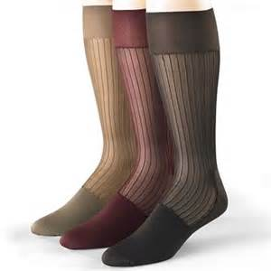 Stacy Adams Thick and Thin Nylon Socks for Men