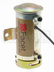 Facet Low Pressure Cylindrical Fuel Pump  8 Npt Ports