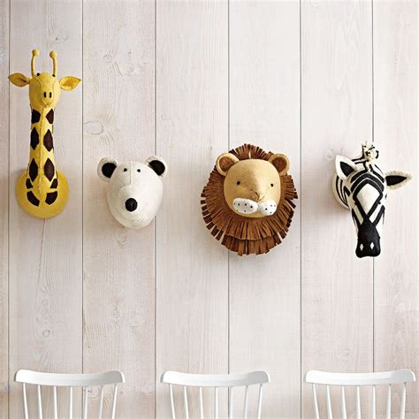 leo bella fiona walker felt animal head giraffe
