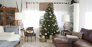 Geschmückte Weihnachtsbäume Christbaum Dekorieren : k nstlicher weihnachtsbaum h bsch reduziert westwing ~ Markanthonyermac.com Haus und Dekorationen