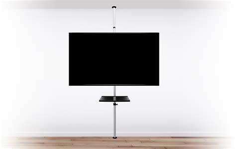 pied cuisine reglable support tv sur pied orientable et inclinable potorose