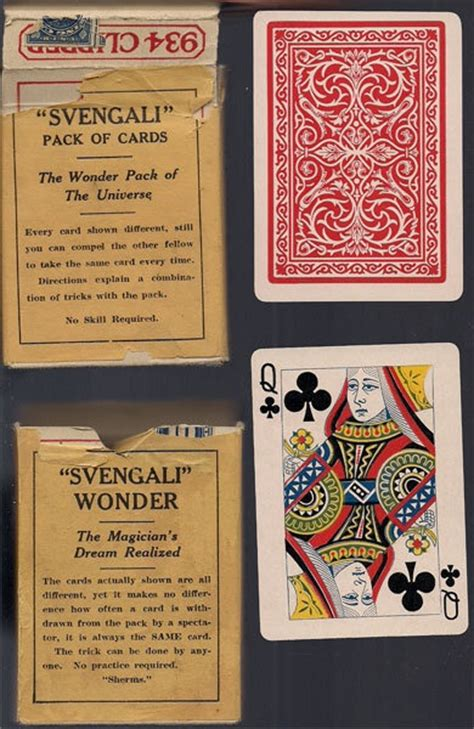 Svengali Deck Tricks Revealed by 17 Best Images About Magical Curiosities On