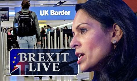 Brexit LIVE: Priti Patel set to announce points-based ...