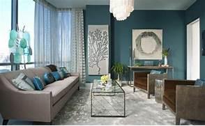 Salon Gris Et Bleu. idee deco salon bleu marine. d coration salon ...