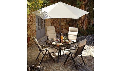 reclining garden chairs asda haversham 6 recliner patio set linen garden