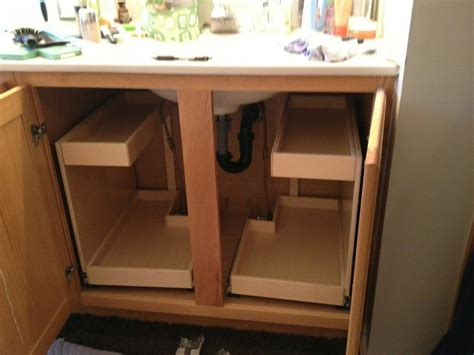 under sink drawers bathroom kitchen cabinet pull out drawers bathroom under sink pull