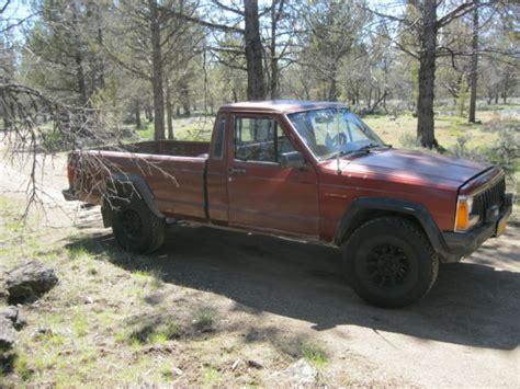 1986 jeep comanche 4x4 1986 jeep comanche mj 4x4 5spd v6 2 8 long bed no rust