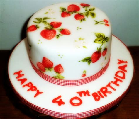 Cakes Decorated With Strawberries by Strawberry Cake Decoration Ideas Birthday Cakes