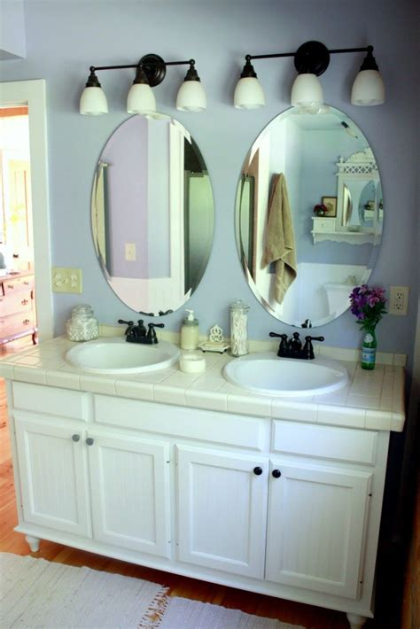 Bathroom Vanity Mirrors For Sink by Bathroom Oval Mirror Design Right Choice For Bathrooms