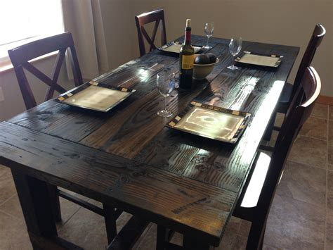 dining table farm style dining table