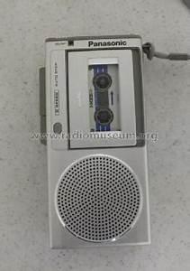 Microcassette Recorder RN-150 R-Player Panasonic, Matsushita