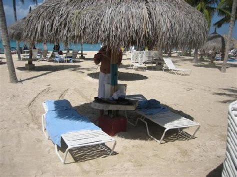 Aruba Tiki Huts by Marriott Surf Club Area Picture Of Marriott S
