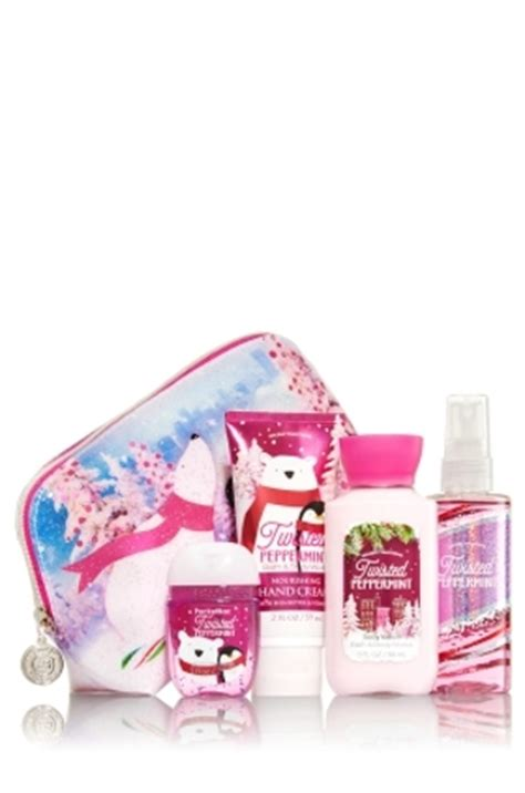 free adorable bath body works quot twisted peppermint