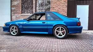 Blue Ford Mustang Foxbody - CCW SP500 Forged Wheels - CCW Wheels