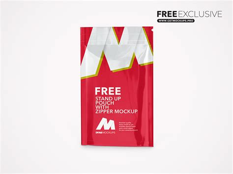 All free mockups consist of unique design with smart object layer for easy edit. Stand Up Pouch With Zipper Free Mockup | Free Premium PSD ...