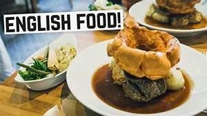 English Food Sunday Roast, Bangers & Mash and Bubble
