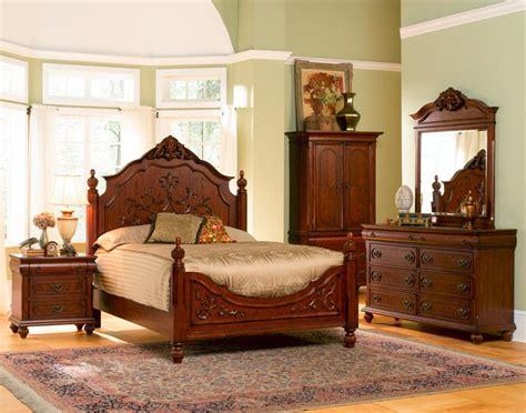 coaster bedroom furniture coaster carved 4 pc bedroom set
