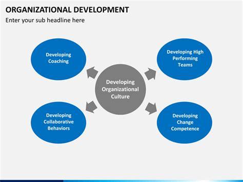 organizational development powerpoint template sketchbubble