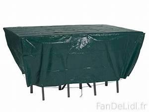 Housse Table De Jardin : housse de protection jardin fan de lidl fr ~ Teatrodelosmanantiales.com Idées de Décoration