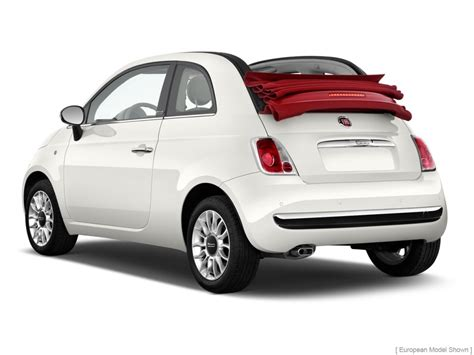 Fiat Lounge Convertible image 2013 fiat 500 2 door convertible lounge angular