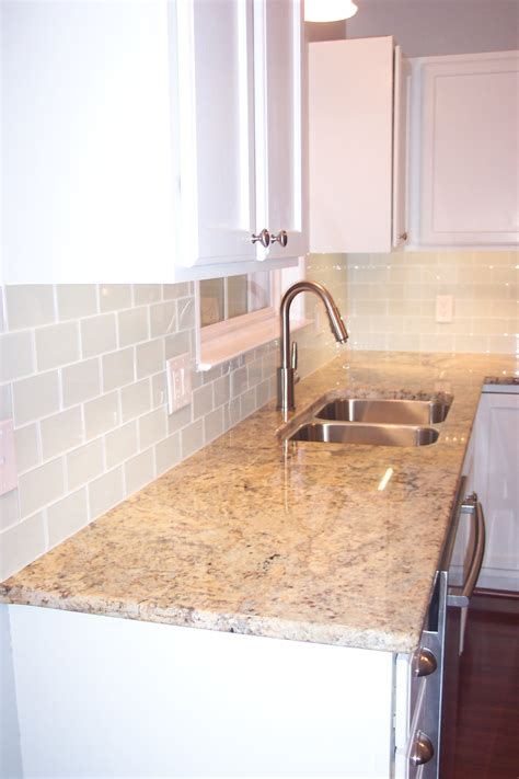 how to install glass mosaic tile backsplash in kitchen glass subway tile projects before after pictures